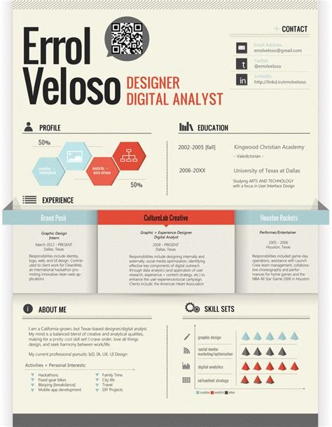 graphic design resume font 168 best creative cv inspiration images on pinterest