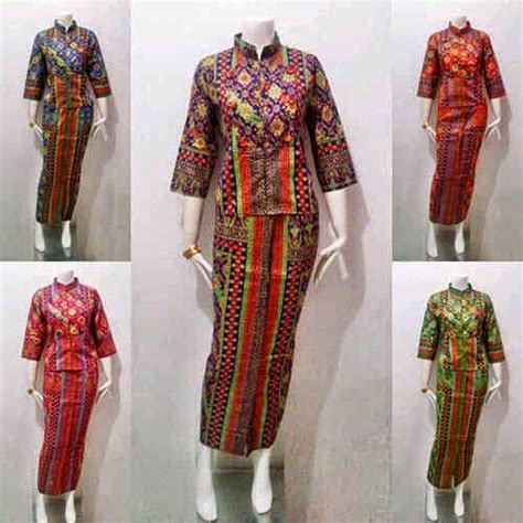 Rok Dan Blouse Panjang Prodo Etnik model baju batik wanita prodo series
