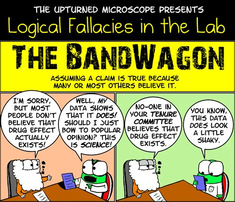 Logical Fallacy Essay Exles by Tok Real Situations The Bandwagon Fallacy