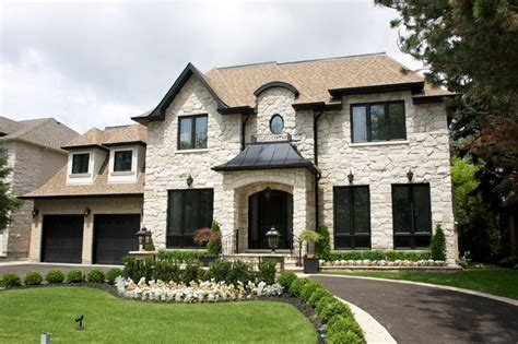 home exterior design toronto custom homes york traditional exterior toronto by hush