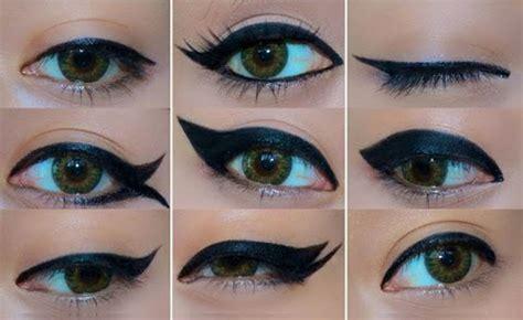 tutorial eyeliner style video makeup tutorial 9 fun eyeliner styles that will