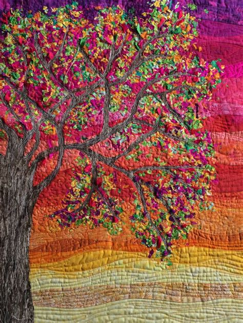 tree of in progress quilts and quilting