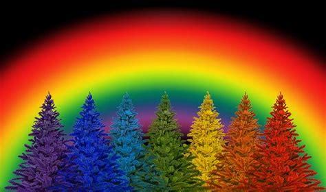 christmas colorful rainbow colors  photo  pixabay