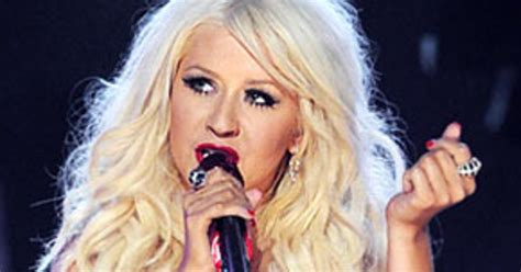 Did Aguilera Go Nuts At The Grammy Awards by Aguilera Falls After Grammy Performance Us Weekly
