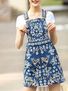 Dress Cool Denim Flower 842 best denim dresses and jumpsuits images on