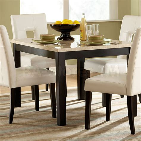 dining room table square dining table for 4 homesfeed