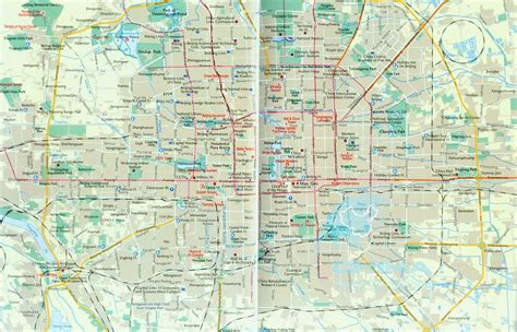 beijing map beijing map beijing map travel maps of beijing