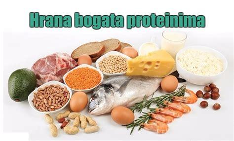u proteini hrana bogata proteinima top 20 namirnica