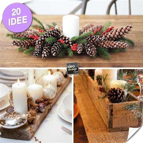 centro tavola natalizio fai da te bellissimi centrotavola natalizi fai da te 20 idee