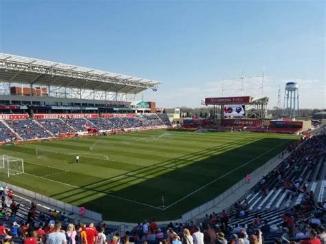 toyota park bridgeview illinois thousands of empty seats on a gorgeous picture of
