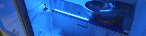 Bathroom Uv Light Boeing S New Self Cleaning Airplane Bathroom Annihilates Microbes With Uv Light Inhabitat