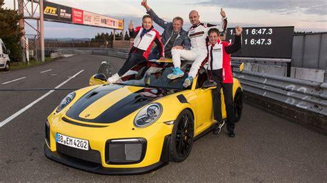 Porsche Nurburgring by Porsche 911 Gt2 Rs Nurburgring Record Motor1 Photos