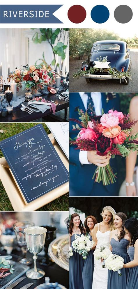 blue wedding colors top 10 fall wedding color ideas for 2016 released by