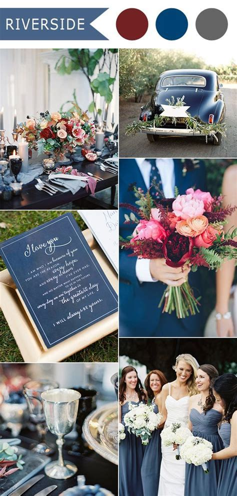 Top 10 Fall Wedding Color Ideas for 2016 Released by