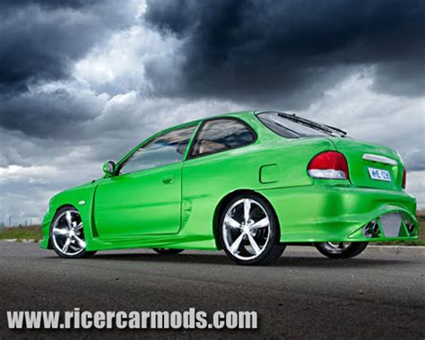 pimped hyundai accent ricer mods 54