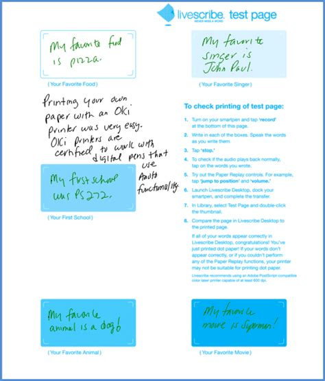 printable dot paper for livescribe adrian hogan printing your own livescribe printable notepads