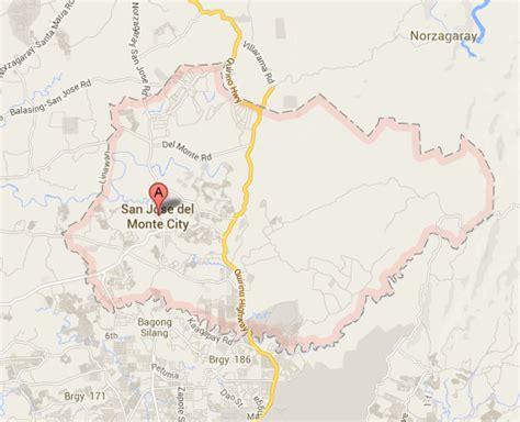 san jose monte map bulacan san jose monte city barangay elections 2013 results