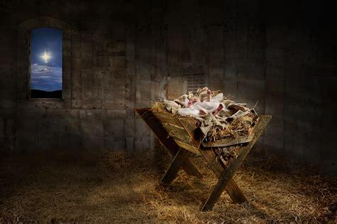 baby jesus manger prevailing when hurts