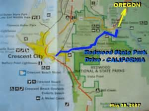 redwood forest oregon map djurdjevic personal photos oregon may 2007