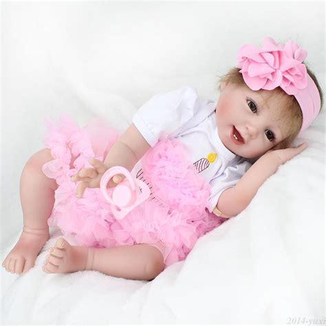 Handmade Baby Doll - handmade lifelike reborn baby dolls 22inch soft vinyl
