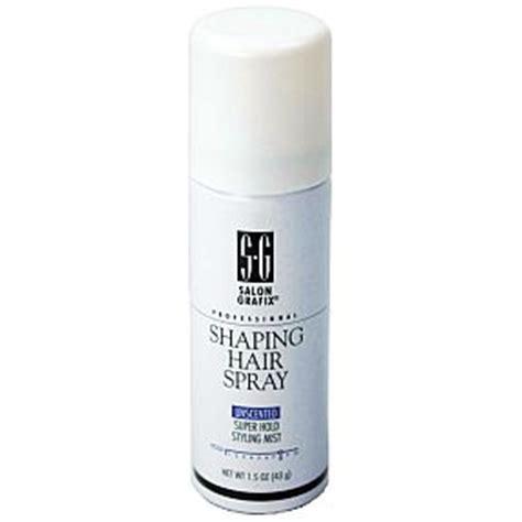 shaping hair salon grafix professional shaping hair spray unscented