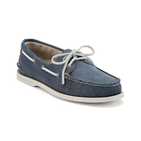 boat shoes canvas sperry top sider authentic original canvas boat shoes in