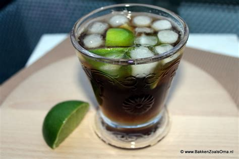 Happy Hour Vanilla Rum Colas by Happy Hour Cuba Libre Bakken Zoals Oma