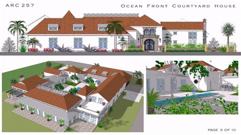 style house plans with courtyard hacienda courtyard house plans house plans home