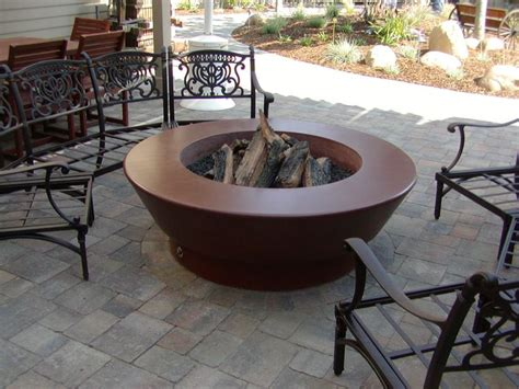 Firepits For Sale Cheap Concrete Pit Garden Landscape