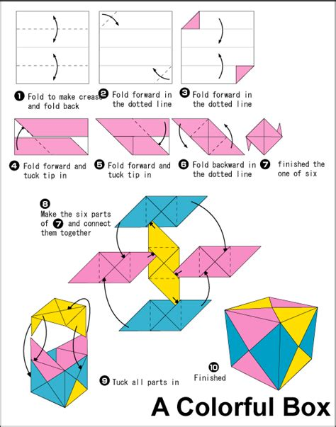 How To Make A Paper Cube Box - origami