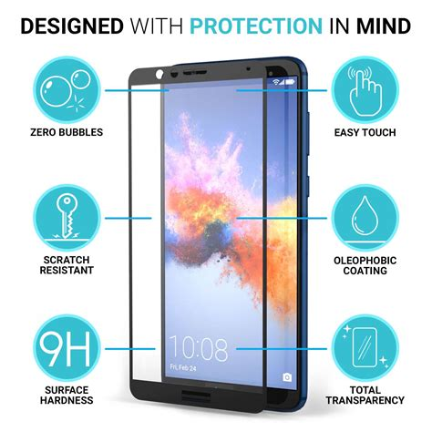 Tempered Glass Universal 68 7 All Tablet Huawei Mediapad 7 Youth huawei honor 7x glass screen protectors with black edge