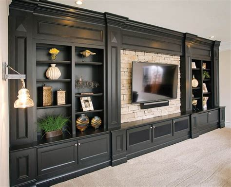 hand crafted painted built in tv cabinetry by tony o gorgeous entertainment center by c w custom woodworking in