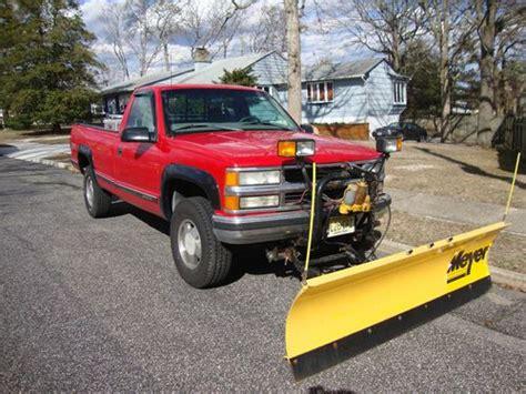 buy   chevy plow truck   trans