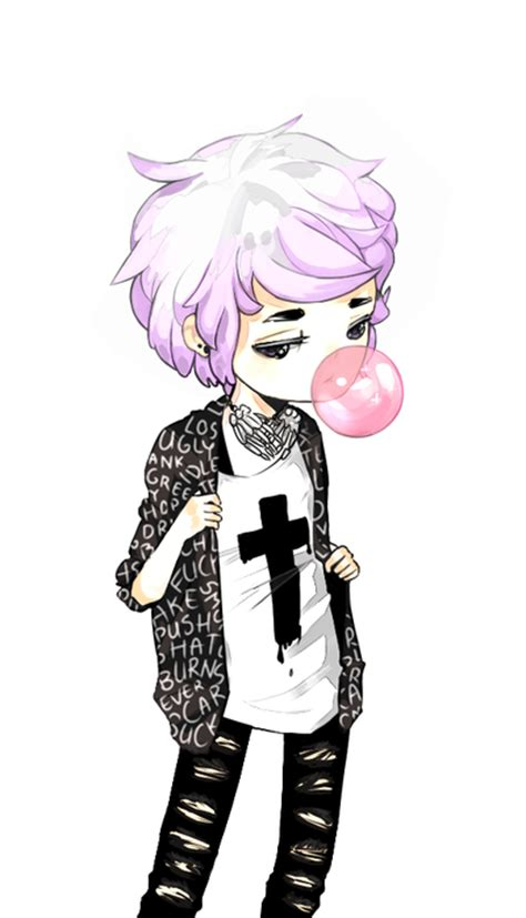pastel goth boy girl whi get lost in what you love