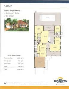 Divosta Floor Plans by Divosta Homes Carlyle Floor Plan House Design Plans