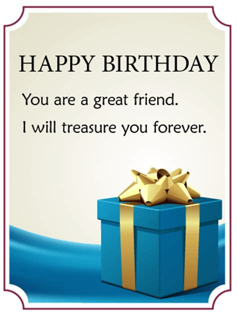 Happy Birthday Becks Our Gifts For You by Cheers Happy Birthday Card For Friends Birthday