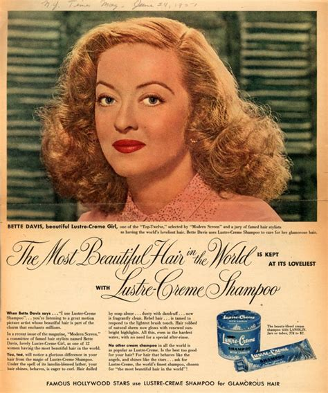 best hair ads vintage beauty and hygiene ads of the 1950s page 12