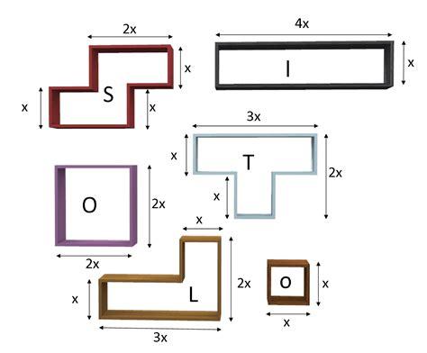scaffale su misura scaffale tetris in laminato