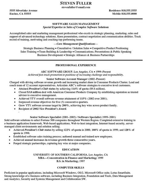 executive resume format pdf account executive resume pdf free sles exles