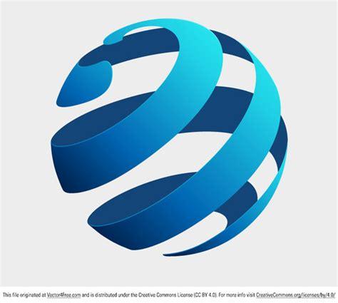 free logo design globe globe logo concept free vector art