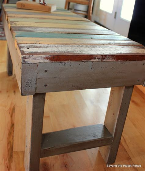 great ideas painted projects 1 pallet furniture 10 bench ideas hometalk