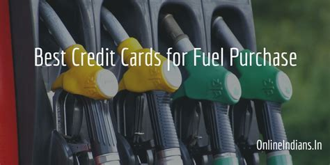 7 Best Credit Cards for Fuel Purchase in India   Online