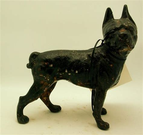 pug door stop antique black pug iron door stop churchill in fairway