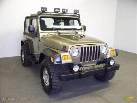 light khaki metallic paint 2003 light khaki metallic jeep wrangler sport 4x4