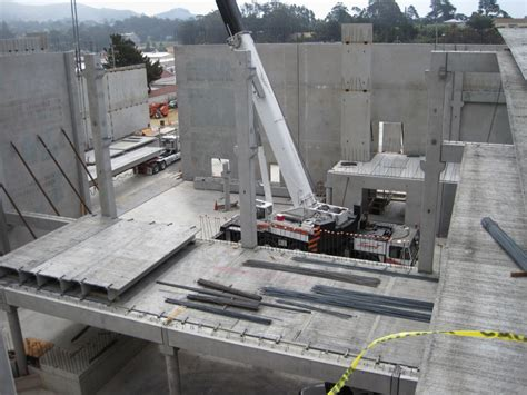 Precast Garage Construction by Parking Structures Hohbach Lewin Inc