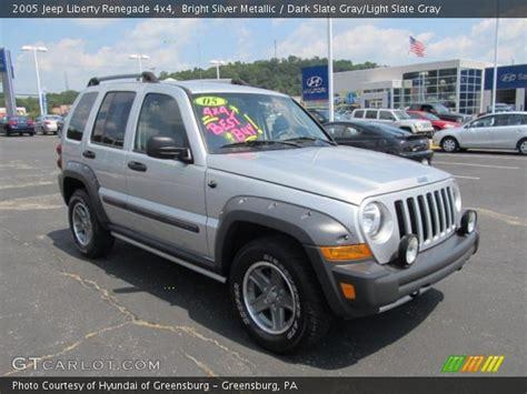 jeep renegade silver bright silver metallic 2005 jeep liberty renegade 4x4
