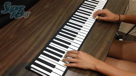 Keyboard Piano For Pc 61 key roll up softkey midi keyboard piano and soul