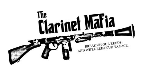 clarinet section clarinet mafia 2011 2012 t shirt design by missetc on