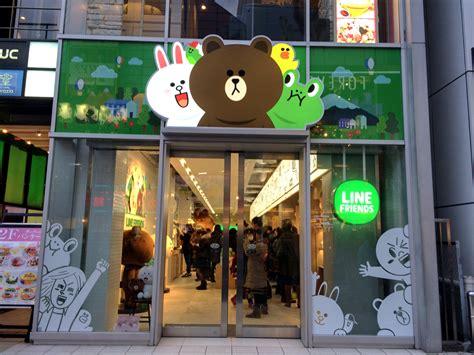 line store 3メートルの巨大ブラウンに会える line friends store harajuku に行ってきた 子連れ