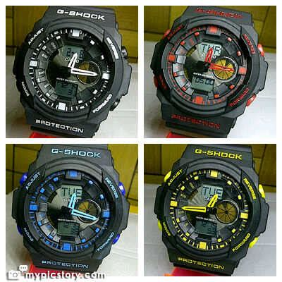 G Shock Ga150 Hitam Putih 2 Tiga Utama Shop Focus Sunglasses Watches